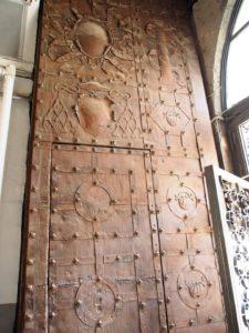Restauro del Portale del Palazzo Vicereale