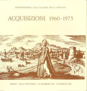 """Catalogo """"Acquisizioni 1960-1975"""""""