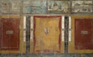 Restauro del grande affresco dai Praedia di Iulia Felix