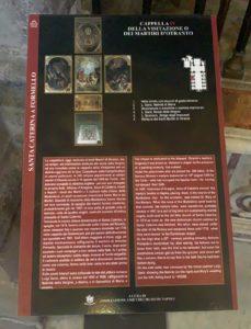 Pannelli didattici Santa Caterina a Formiello