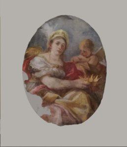 Restauro di due affreschi di Francesco Solimena