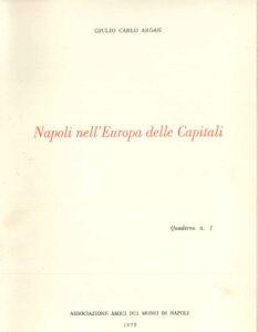 Napoli nell'Europa della capitali